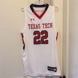 Texas Tech Red Raiders Men's basketball jersey